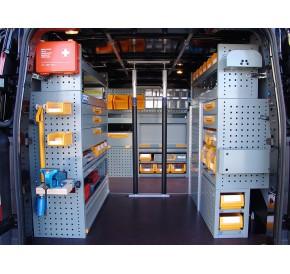 Įranga mobilioms aptarnavimo stotims Storevan