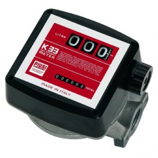 K33 mechaninis skaitiklis 1'' 20-120l/min A ver. <