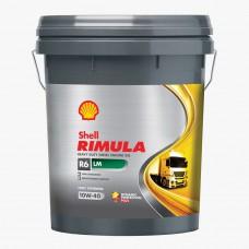Shell Rimula R6 X 10W-40 alyva, 20Ltr.