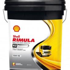Shell Rimula R3 X 15W-40 alyva, 20Ltr.
