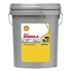 Shell Rimula R4 L 15W-40 alyva, 20Ltr.