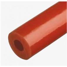 Diržas RR 5X2 mm raudonas tuščiaviduris (DFVR8)